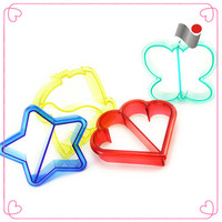Hot sale different shape plastic cookie cutters