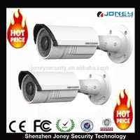 3 Megapixel ir bullet network camera, 3mp Varifocal POE IP camera hikvision IPC DS-2CD2632F-IS
