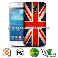 Hard back cover for Samsung galaxy s4 mini i9190 case with UK flag