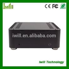 Top quality mini computer case MPC-T8 aluminum HTPC case