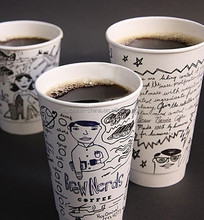 Coffee Tea Juice Disposable Paper Cups