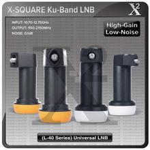 High gain ku band universal single lnbf