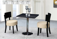 2015 hot sales stell dinner restaurant bar table and chair 107-899