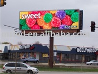 Outdoor Double Sided LED Sign - Rotating Billboard LED Sign p10