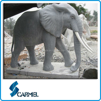 Chinese hight quality statues granite elephant