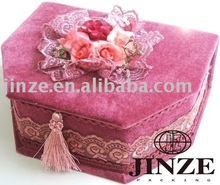 Echelon formation jewelry box