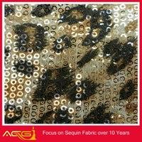 Woven waterproof polyester print leopard stretch fabric fabric stiffener