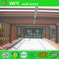 garden border fence wood plastic composite wall panel