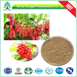 100% herbal extract Natural 1% Schisandrin Schisandra Berries extract