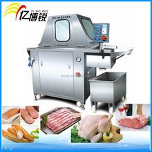 Pollo de acero inoxidable del inyector de la máquina / solución salina salmuera inyector de la carne
