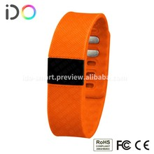 DO speedometer bracelet silicone wristband adjustable wristband step counter activity tracker
