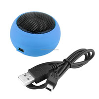 Chargeable ball shaped mini usb speaker round speaker for laptop/smartphone/MP3/MP4 usb speaker