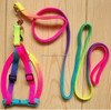2015 hot selling coloring pet /dog leash Tube polyester lanyard