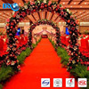 DBJX non woven event carpet 100%polyester wedding red carpet