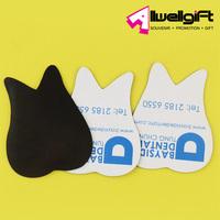 promotion Tooth shaped fridge magnet custom paper die cut fridge magnet