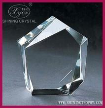 3d laser etched crystal cube