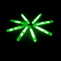 Colorful Night Flash glow stick fishing float