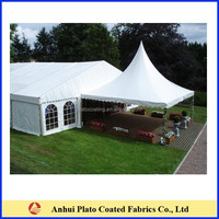 Factory Sale waterproof outdoor tent fabric for shade structure