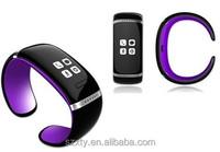 wristband wearing speaker wireless phone talk fashionable iwatch smart bracelet