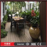 WPC board terrace design