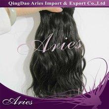 Wonderful looking charming image weaves hair human hair