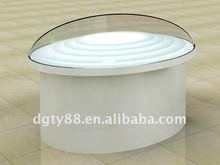 thermoforming thick blister acrylic dome christmas decoration
