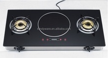 2 burners/double burners/gas stove and induction cooker/multi-funtion