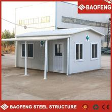 low cost ISO certified luxury modified shipping container hotel