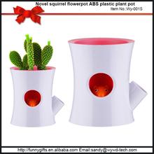 Attractive design small plastic light weight flower pots