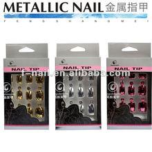 fengshangmei fashion metallic nail tips
