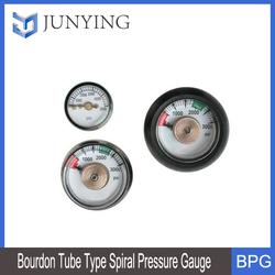 Burdon Tube Type Spiral Pressure Gauge