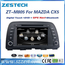 ZESTECH NEW 8 inch car dvd player for MAZDA CX5 with GPS/BT/SWC/USB/TV/RDS/multi-language