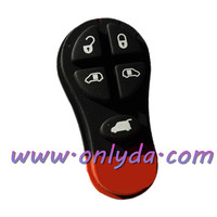 The best quality rubber key pad / Chrysler 5 button remote key pad