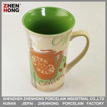 Promotional beautiful 15oz ceramic Coffee mugs&ceramic mugs