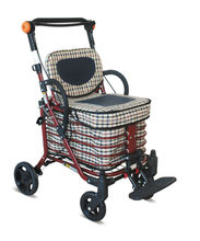 Hot selling folding wire shopping cart with low price