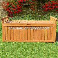 Outdoor Large Wooden Storage Bench / Garden Storage Box