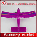 Novo produto rtf 2.4g 2ch avião do rc modelo de avião