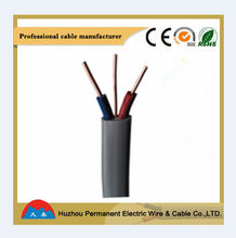 House Holding Bare Conduct Earth Wire PVC Insulation Twin Flat Cable