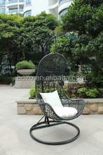 New outdoor / patio / garden / hang / swing / PE Rattan Egg Chair