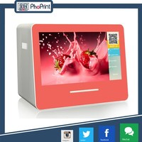 machine can print photos from facebook with A7 photo paper size for advertising