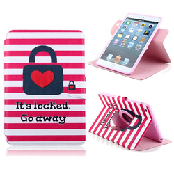 For Apple iPad mini 1/2 Beautiful Cute Print PU Leather Wallet Case with Photo Frame Card cover Customize Mobile Phone case