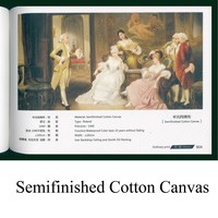 Semifinished Cotton Canvas art poster