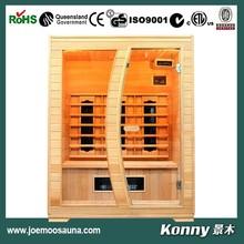 2015 KL-3LE dry mini wood far infrared sauna home