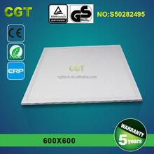 low price high lumen led panel light600*600*10mm 36w ra>80 5 year warranty