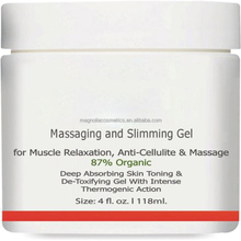Slimming Gel and Massaging Gel 4 oz Great for Muscle Relaxation and Massage