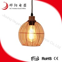Modern Decorative Lantern Shape Hanging Pendant Lamp 40W