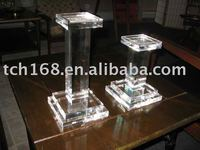 acrylic candle stands
