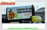 taxi top light box