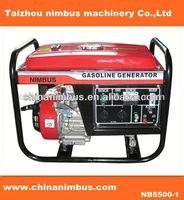 cheap home use portable gasoline generator subaru robin engine