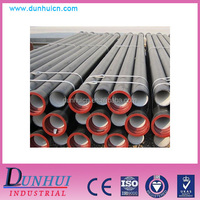 ISO2531 drinking water zinc coat cement lined 8 inch ductile iron pipe